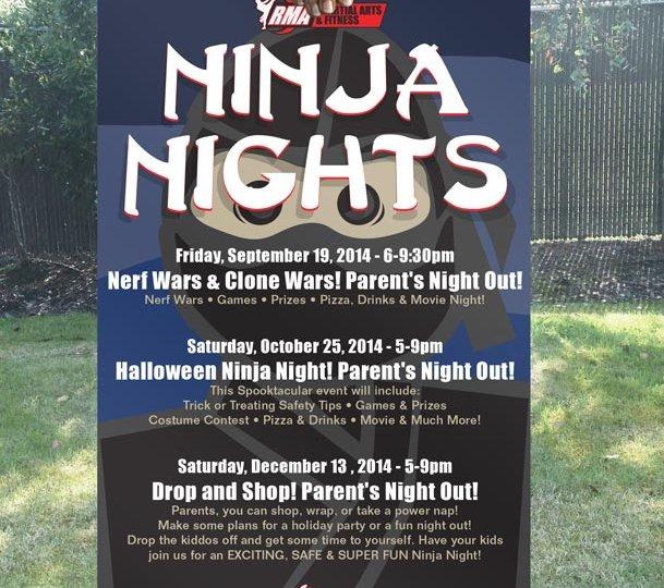 Poster-RMA-ninja-night